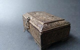 Caja de especias, indoportuguesa / imperio Mogol s. XVI – XVII