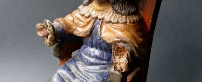 Santo Niño De Atocha, Novohispano, México, Zacatecas, s. XVII – XVIII