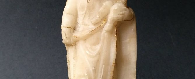 Virgen del Rosario, indoportuguesa, s. XVI -XVII