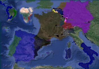 Mapa Benito Rodríguez Arbeteta siglo XVII