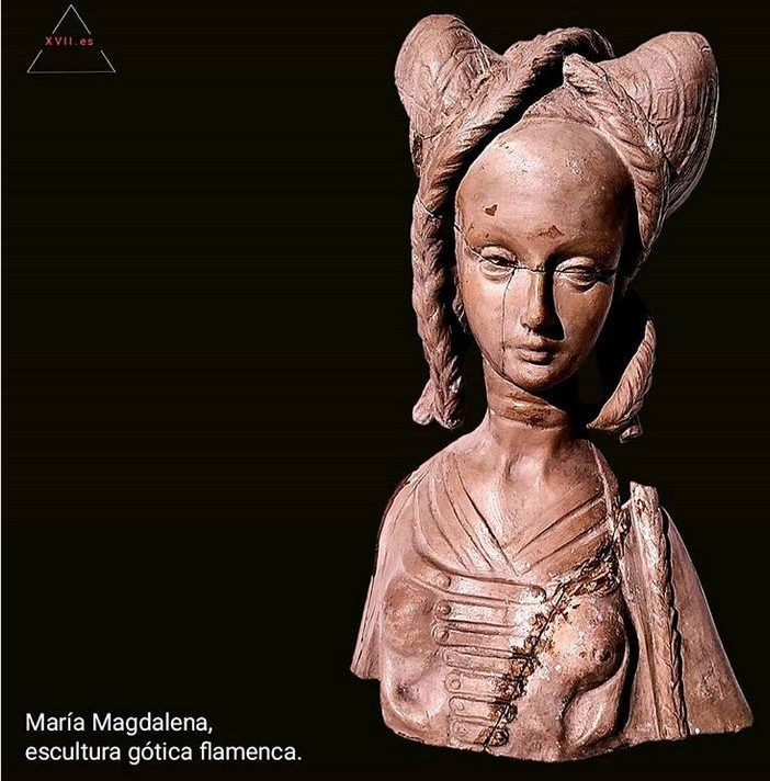 María Magdalena, gotica flamenca, S.XV