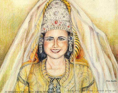Motivos Hispánicos en la indumentaria Judía de Marruecos