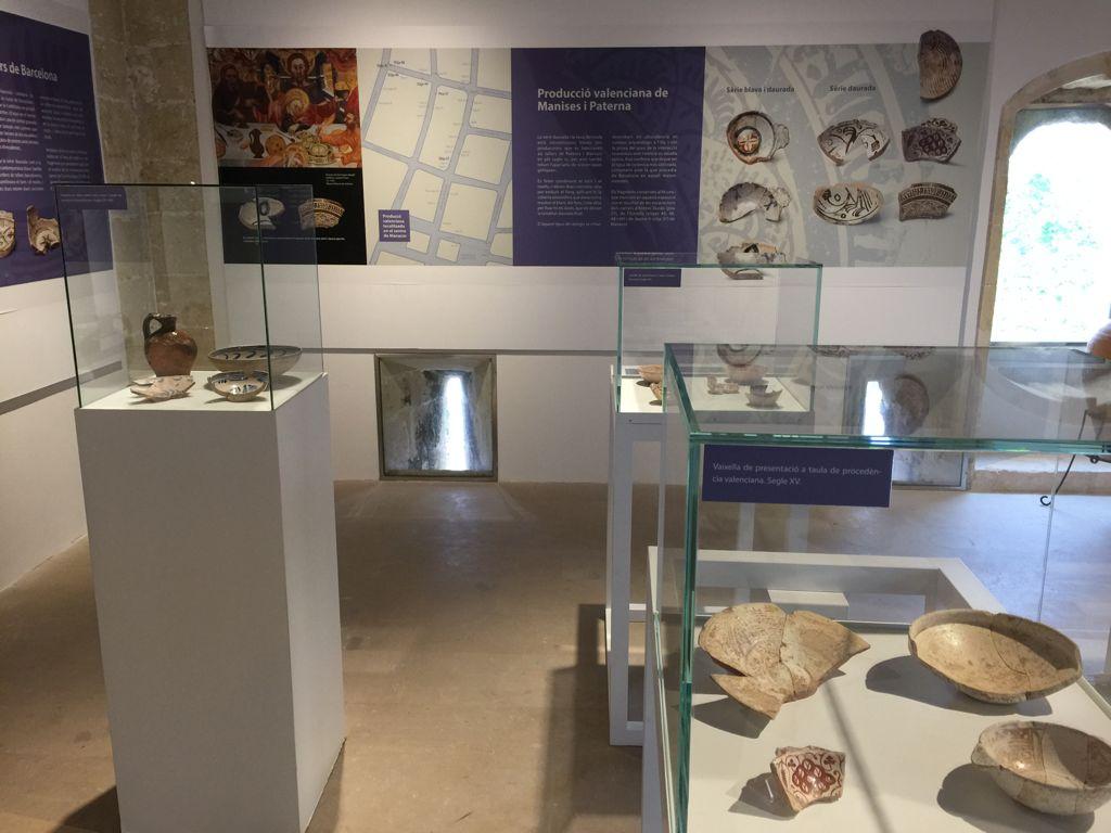 Exposición temporal del barro cocido al objeto