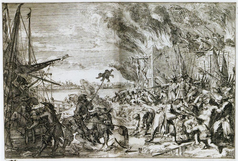 Rampjaar 1672 el ocaso de los Países Bajos masacre Bodegraven