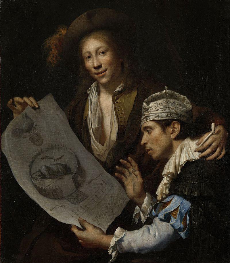 Rampjaar 1672 el ocaso de los Países Bajos alegoría
