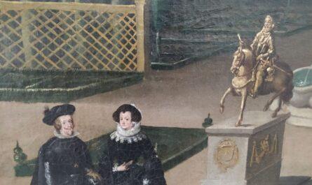Felipe IV en la casa de campo