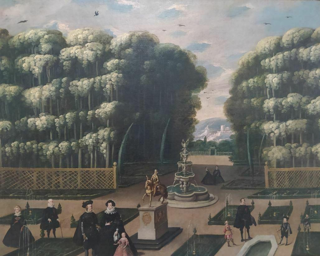 Felipe IV casa de campo XVII