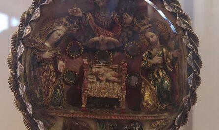 Portapaz de Marfil Quito S.XVIII